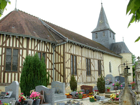 Juzanvigny Church, Aube, France